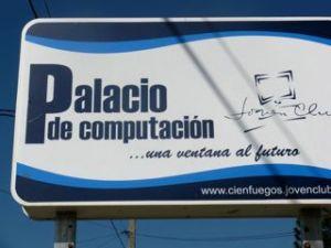 Billboard in Cienfuegos, Cuba